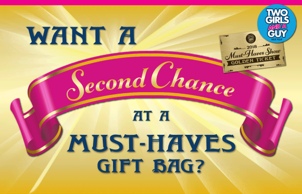 "Win the ""Second Chance"" Must-Haves Gift Bag 
