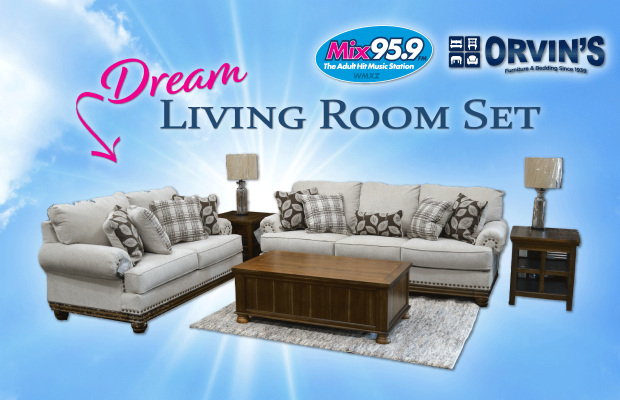 Win This Dream Living Room Set